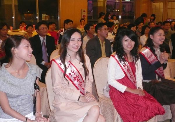 2006年米粉公會理事長交接 竹塹公主全體到場恭賀