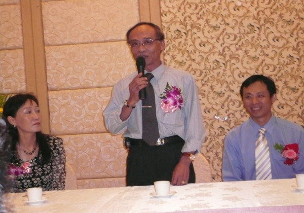 2006年米粉公會理事長交接議員到場恭賀