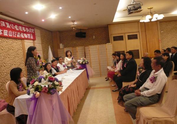 2006年米粉公會理事長交接呂副局長到場恭賀致詞