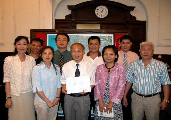 2006-06-20竹市米粉、摃丸及玻璃傳統產業將進軍日本市場