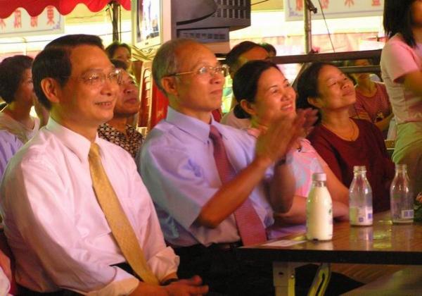 2005-10-08-米粉節晚會市長蒞臨 指導