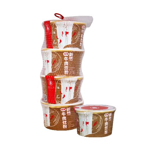新竹紅燒牛肉炊粉(碗裝)含米量60%
