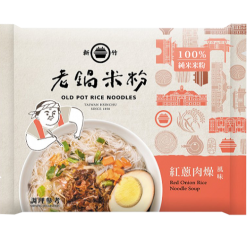 純米紅蔥肉燥風味湯米粉