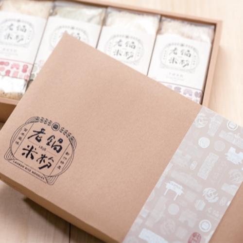 風城傳情禮盒組 4入純米鮮蔬