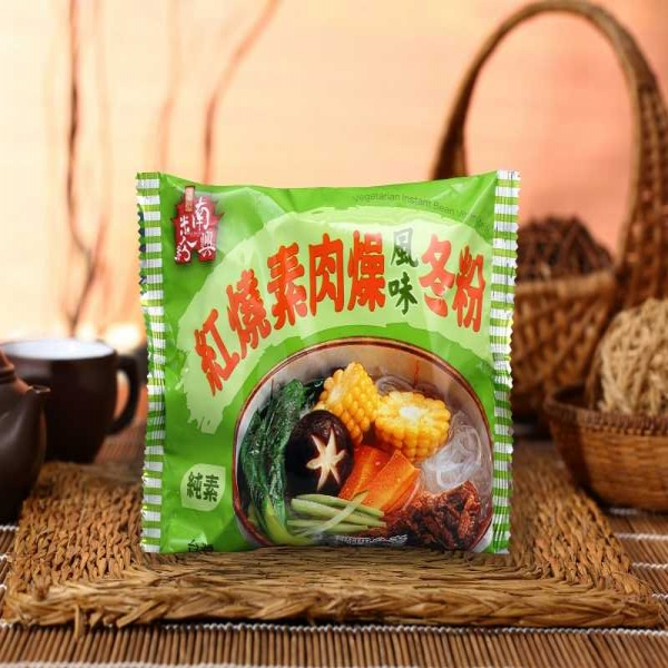 紅燒素肉燥風味冬粉(10入/袋)